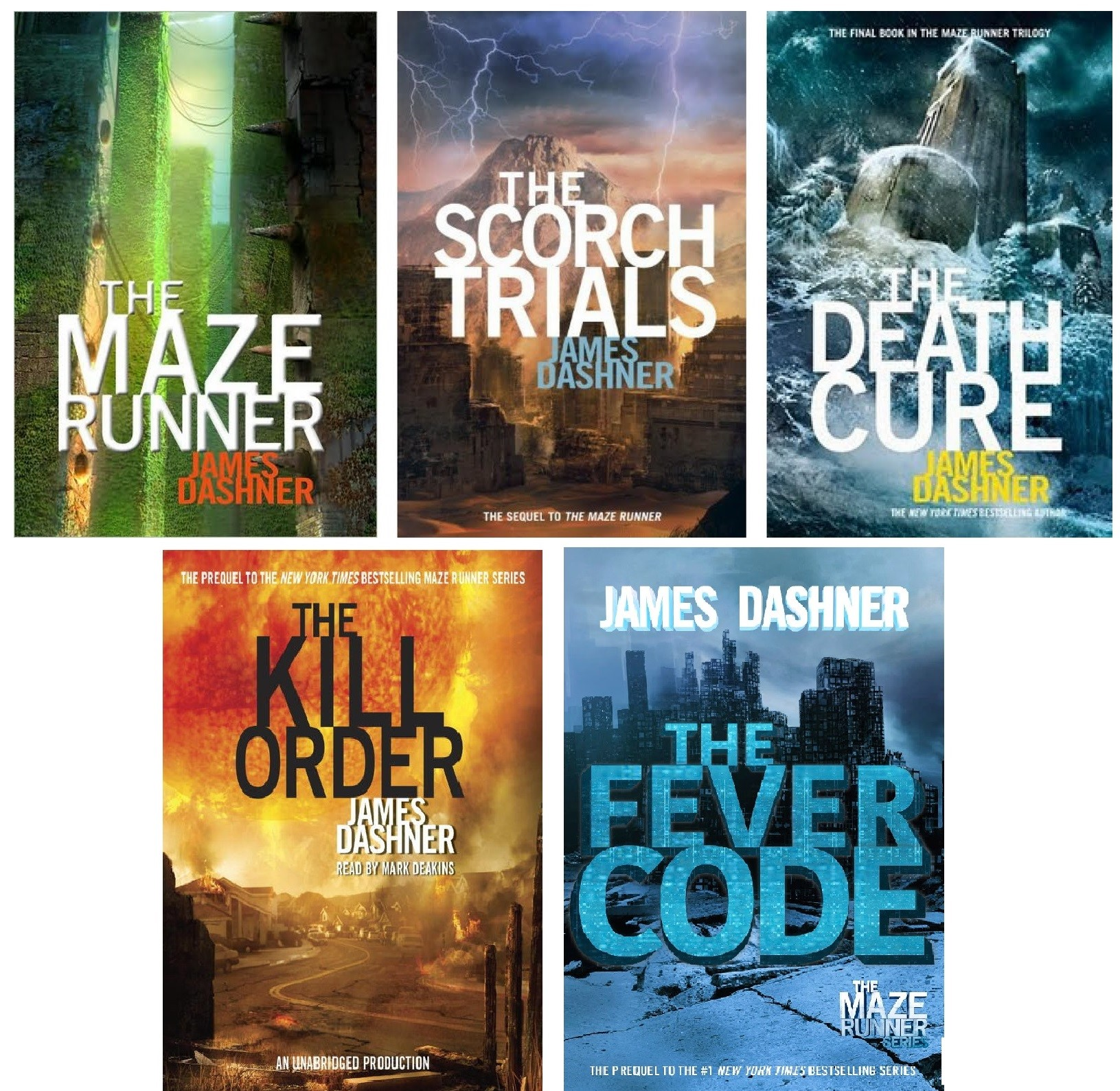the-maze-runner-trilogy