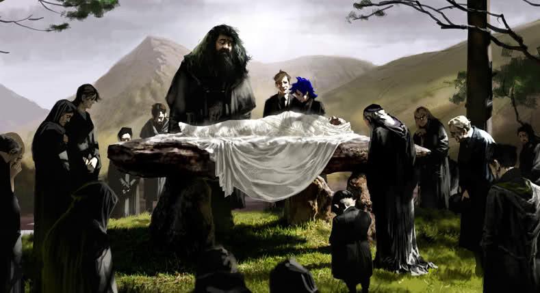 albus-silente-funerale-principe-mezzosangue